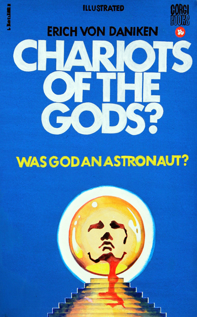 ADAM NORTON  Chariots Of The Gods  2012 vinyl on paper 54 ×33 cm