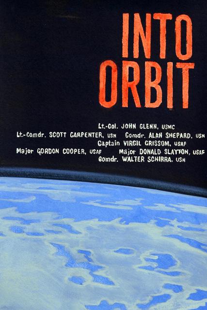 ADAM NORTON  Into Orbit  2012 vinyl on paper 53 ×36 cm
