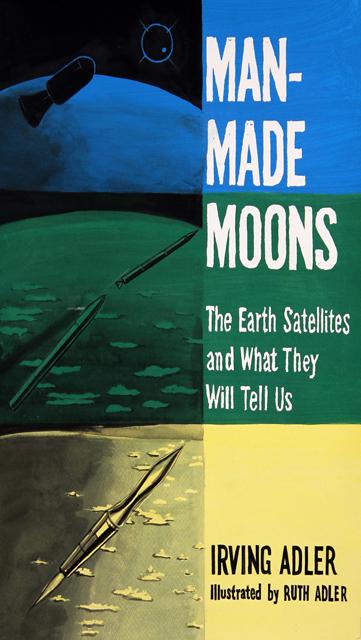ADAM NORTON  Man Made Moons  2012 vinyl on paper 46 ×32 cm