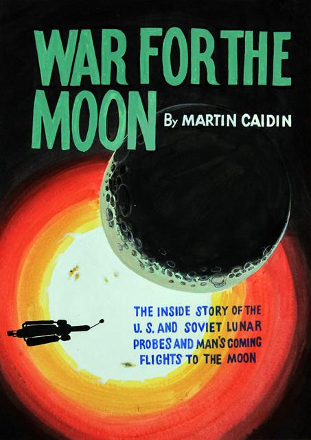ADAM NORTON  War For The Moon  2012 vinyl on paper 48 ×33 cm