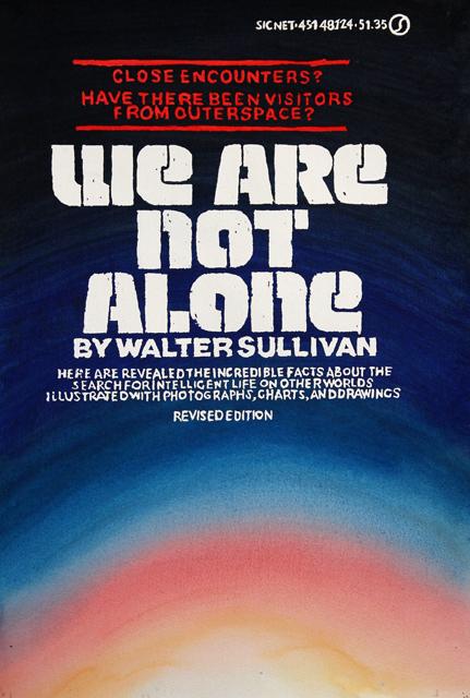 ADAM NORTON  We Are Not Alone  2012 vinyl on paper 54 ×33 cm