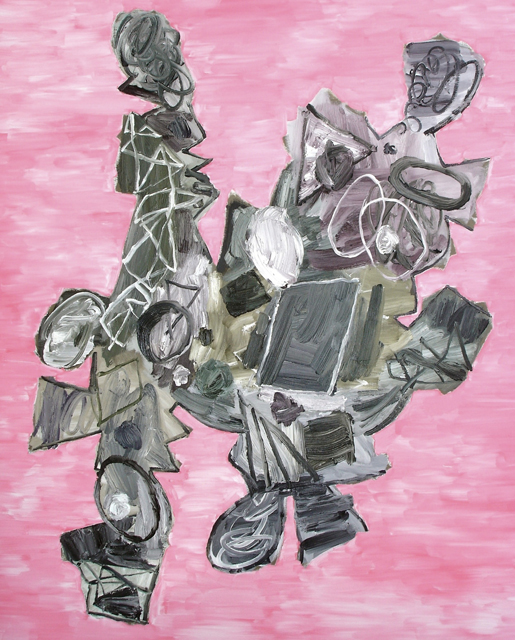 STUART WATTERS  The Grammar of Dissent  2012  oil on canvas 152 × 122 cm