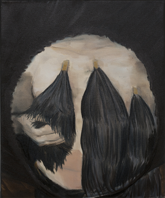 JELENA TELECKI  Improvisation 2  2013 oil on canvas 61 × 51 cm