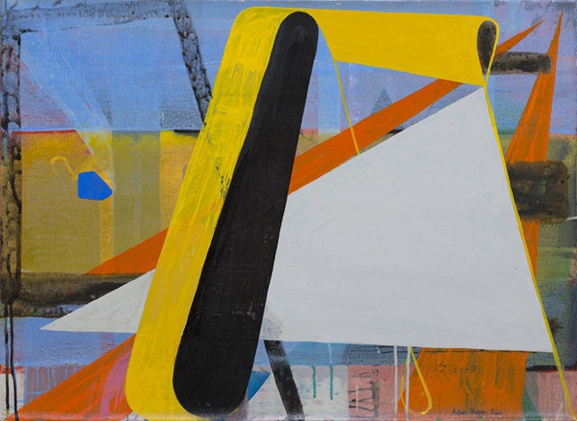 JULIAN HOOPER  Park  2013 acrylic on linen 56 × 76