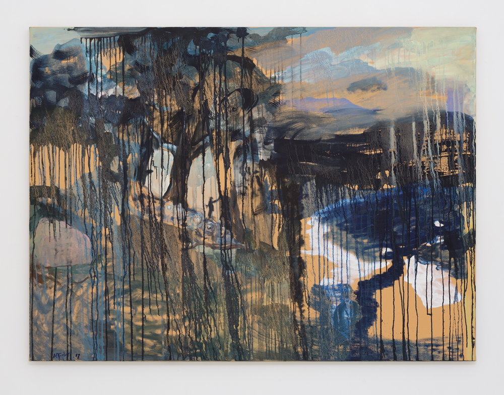 MICHAEL TAYLOR  Dividing Range  2017 oil on canvas 120 × 160 cm