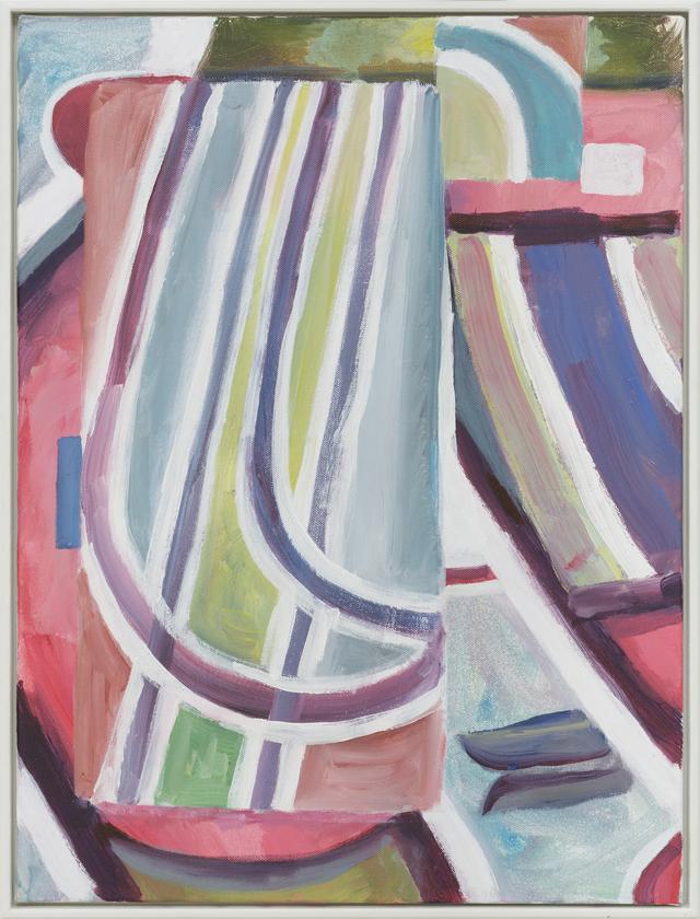 SIMON BLAU  Coast  2013 acrylic on canvas 60.5 ×45.5 cm