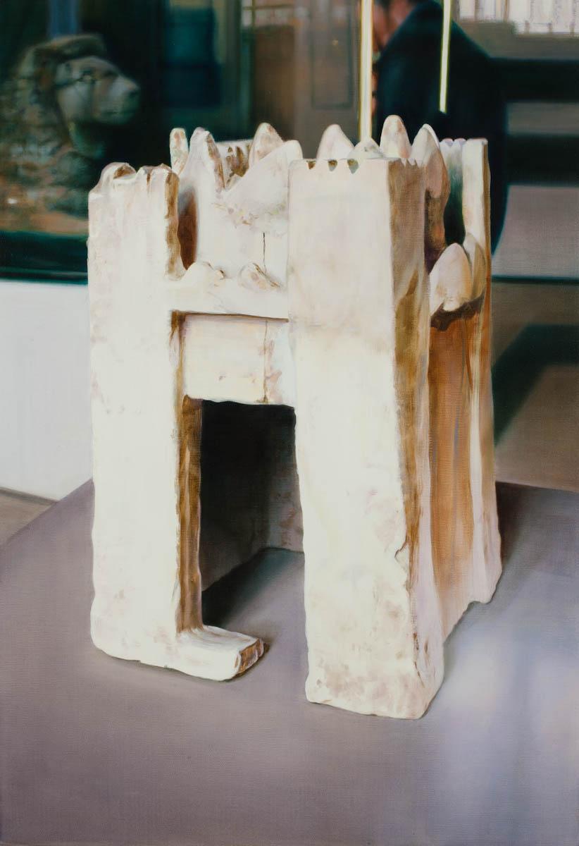 ANNA KRISTENSEN  Castle 1 2011 oil on linen 66 ×46 cm