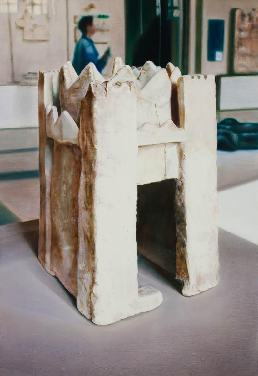 ANNA KRISTENSEN  Castle 2  2011 oil on linen 66 ×46 cm