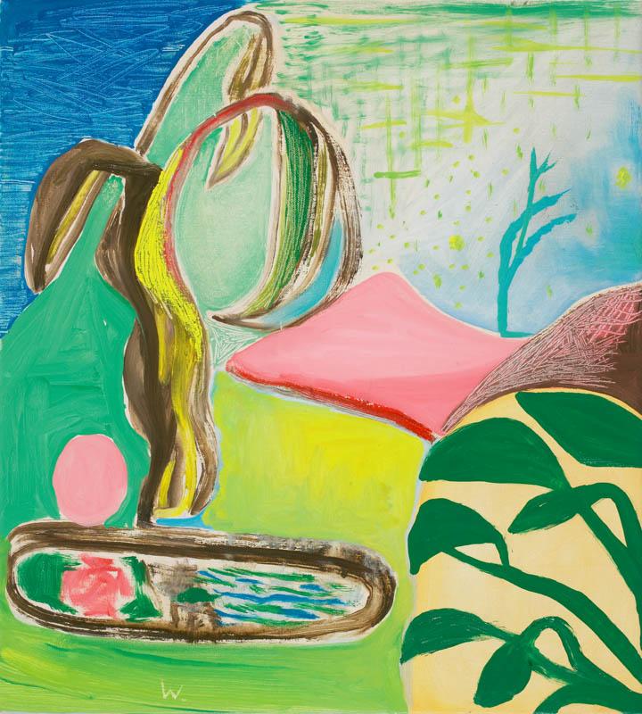 BRADD WESTMORELAND  A Good Day  2006 oil on canvas  56 ×51 cm