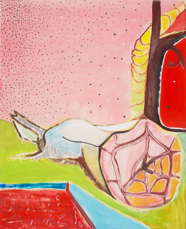 BRADD WESTMORELAND  Summer Night  2006 oil on canvas  81 × 66 cm