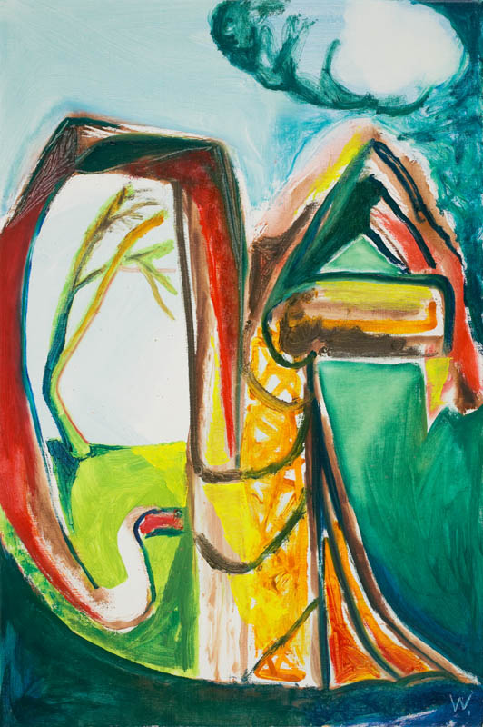 BRADD WESTMORELAND  Rain Cloud  2006 oil on canvas 76 ×51 cm