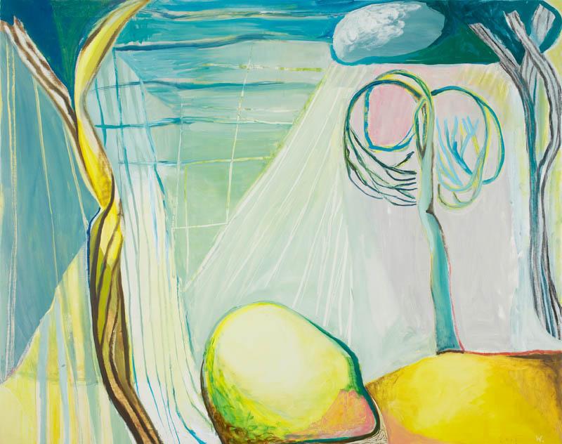 BRADD WESTMORELAND  Tomorrows Landscape  2006 oil on canvas 2006  157 ×197.5 cm