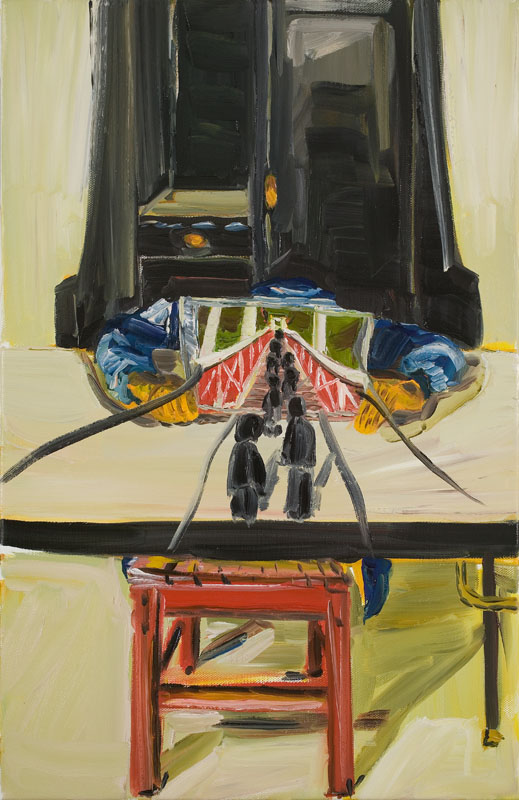 MOYA MCKENNA  Hope  2007 oil on canvas 71 × 45.5 cm