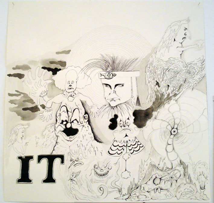 MATTHEW HOPKINS  IT (it) The Return of IT  (various drawings) 2007  IT Movie Poster Dream