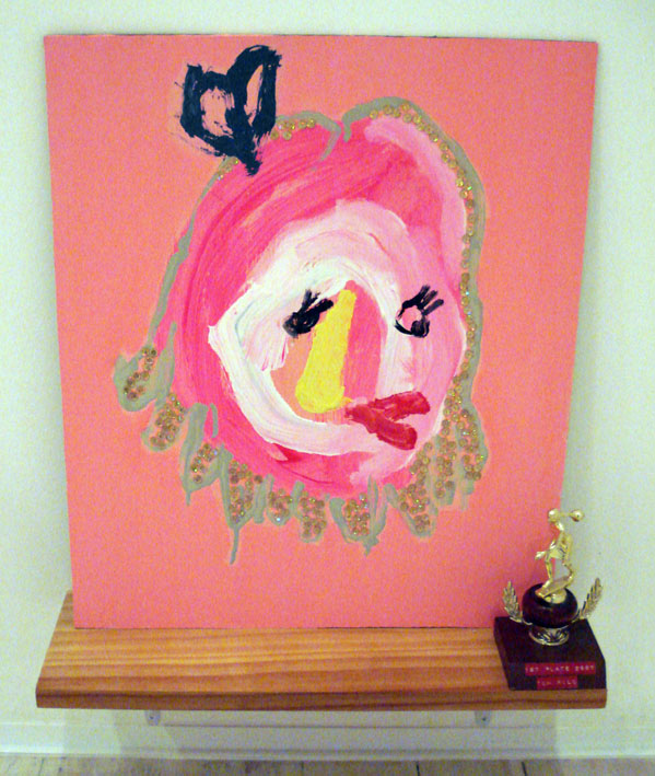 TOM POLO  At least you tried 2007 mixed media on board, found trophy & shelf