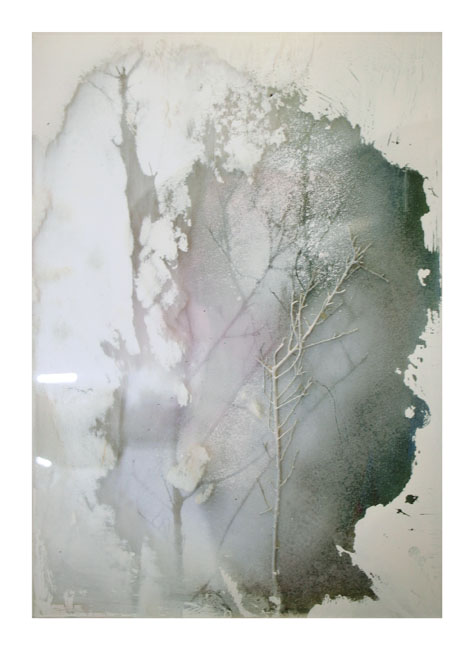 REBECCA PEARSON  Past Times  2007 perspex, mixed media on wood 21.5 ×30 cm