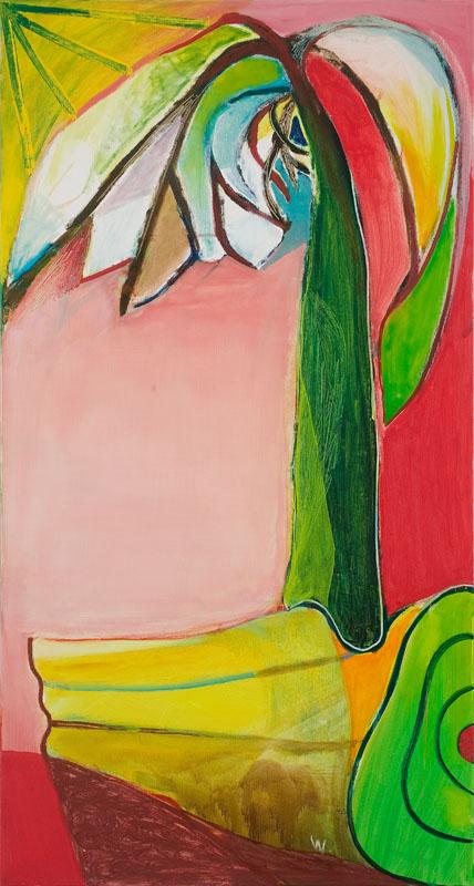 BRADD WESTMORELAND  Banana Palm  2007 Oil on canvas 142 ×122 cm