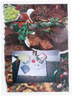 GEOFF NEWTON  Collage 2  2007 photographs on found paper 29 ×21 cm
