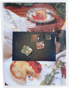 GEOFF NEWTON  Collage 3  2007 photographs on found paper 29 ×21 cm
