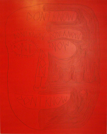 TREVELYAN CLAY  Don't Know  2006 Oil on linen 150 × 120 cm
