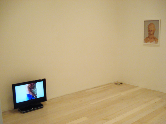 RICHARD MALOY (INSTALLATION)   Clay Nose / Body Arm  1998 DVD  5 minutes 40 seconds Edition of 3 + Artists Proof