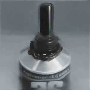 BRETT EAST  Untitled Black Study I  I 2009  oil on canvas 20 ×20 cm