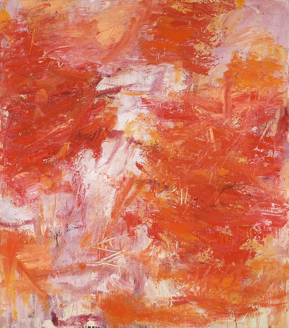 CRAIG WADDELL  Fire Flame  2009  oil on canvas 150 × 170 cm