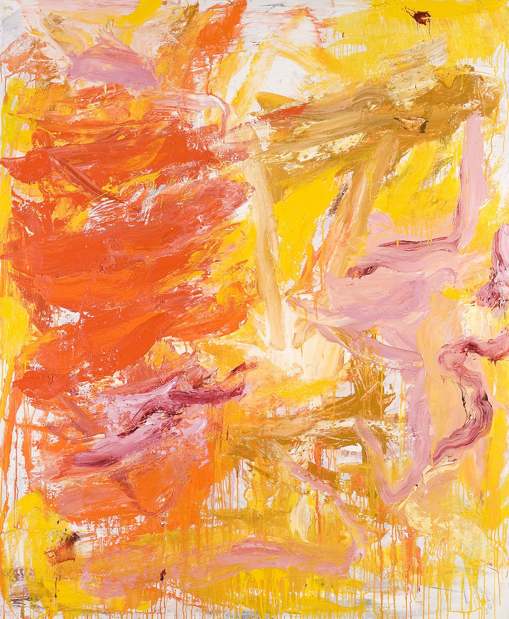 CRAIG WADDELL  Sunshine Flickers   2009  oil on canvas 140 × 170 cm