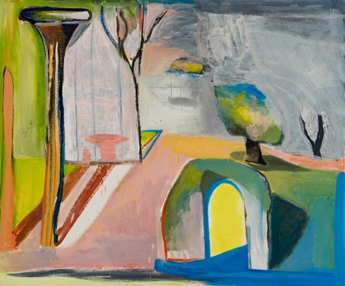 BRADD WESTOMORELAND  Landscape (Under Grey Skies) 2008 oil on canvas 107 ×89 cm