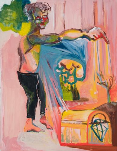 BRADD WESTOMORELAND  Sleepwalker  2008 oil on canvas 71 ×91 cm