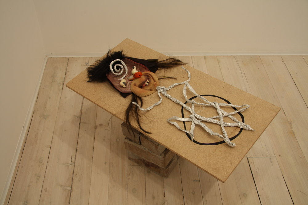 MATTHEW HOPKINS  A Chance Demon Off Duty   P.O.A.  2009 mixed media dimensions variable