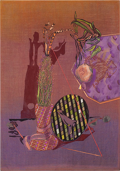 MELODY WILLIS  Canley Vale Wish List  2010 acrylic, pencil and collage on linen 102 × 170 cm