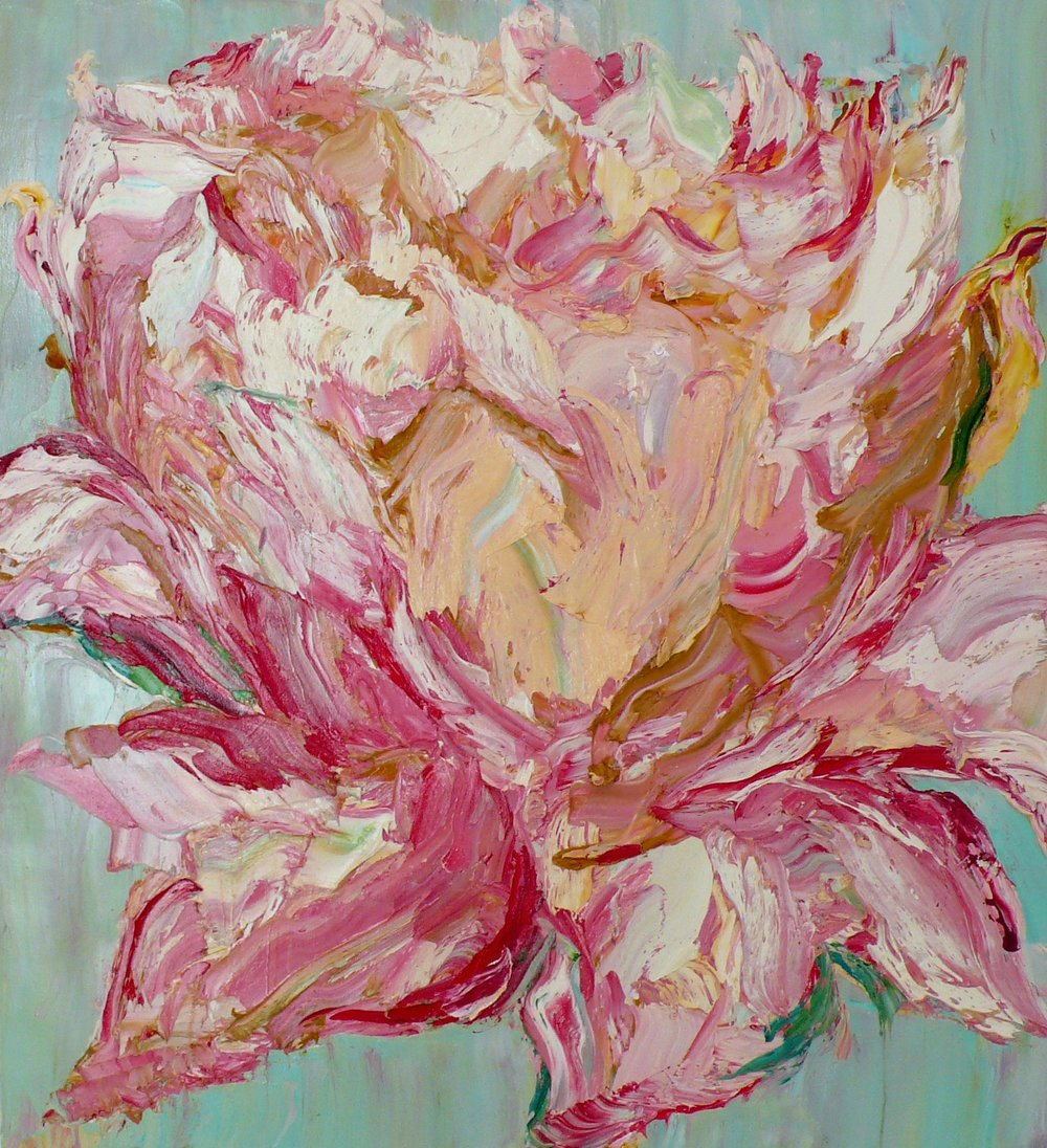 CRAIG WADDELL  My Heart is in Bloom  2010 oil on linen 130 × 120 cm