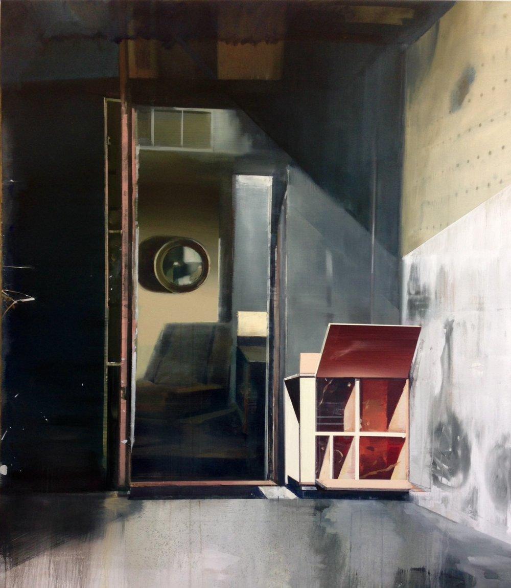 DAVID RALPH  Open Heart 2018 oil on canvas 170 ×150 cm
