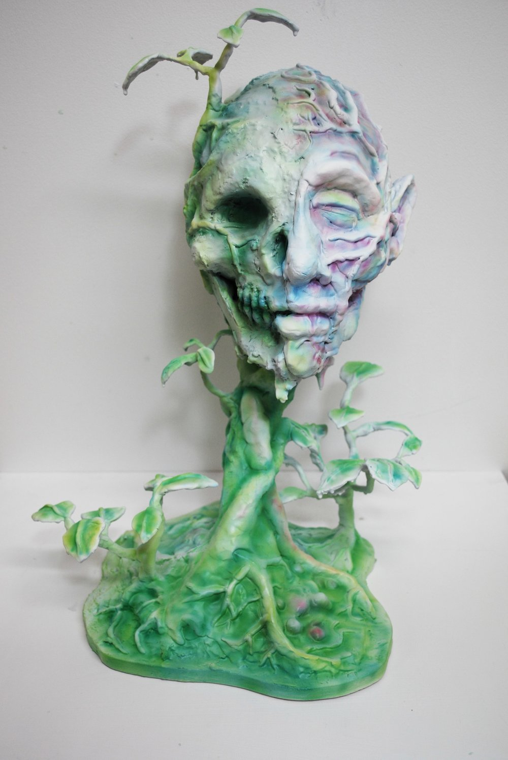ROBIN HUNGERFORD  The Naturalist  2011 plastic, poylmer clay, wire, fibreglass Height 49 cm