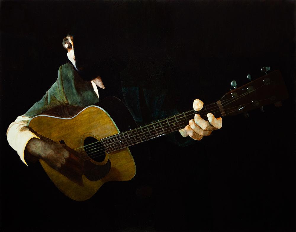 WHAT  Gareth Liddiard  2011  oil on canvas on board 168 ×218 cm