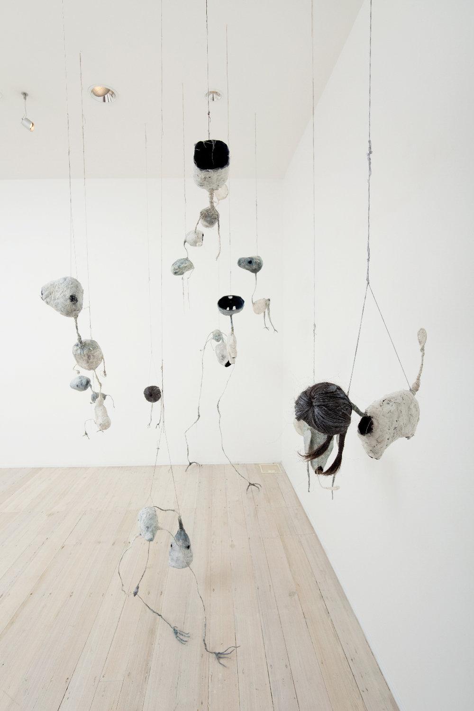 Installation view of Jade Pegler's sculpture