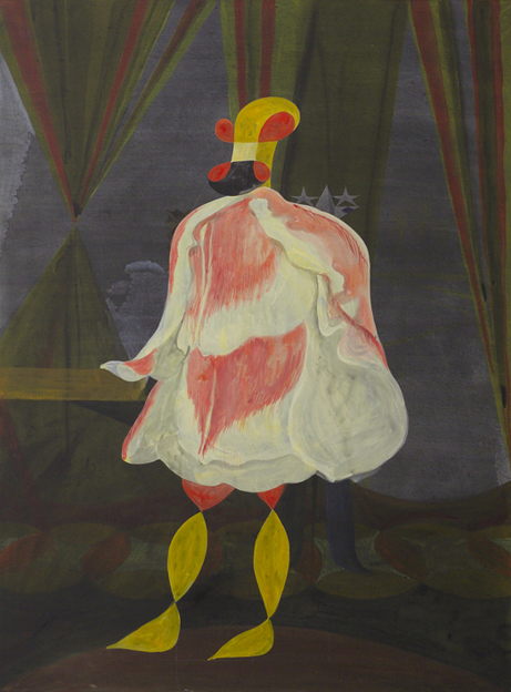 JULIAN HOOPER  Count  2008 acrylic on canvas 123 ×92 cm