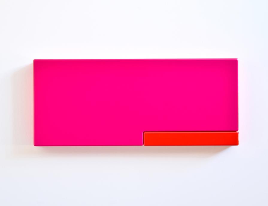 SUZIE IDIENS  Pink Red  2012 MDF, Polyurethane 31 x 73 x 7cm