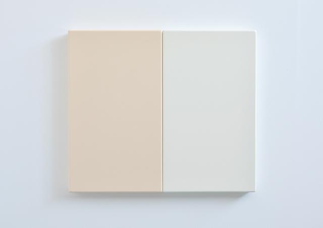 SUZIE IDIENS Flesh White, 2012 MDF, Polyurethane 69 ×80 ×7 cm