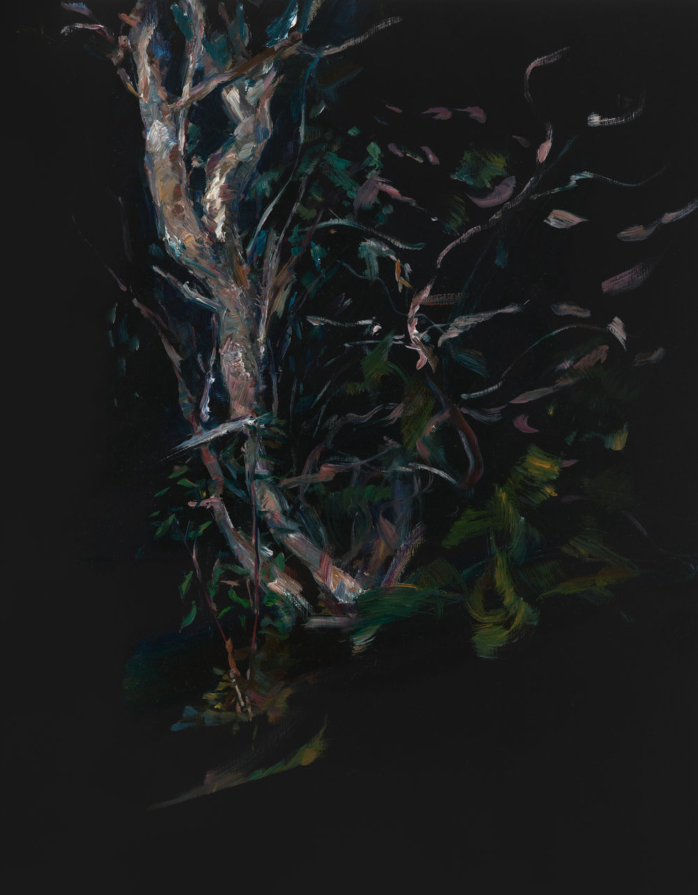 PAUL WILLIAMS  Sleep imagery  2011  oil on board 48 × 37.5 cm