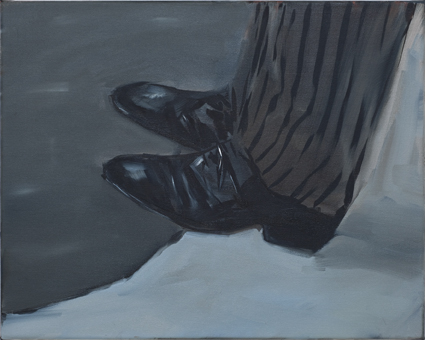 JELENA TELECKI  Fall  2012 oil on canvas 51 × 41 cm