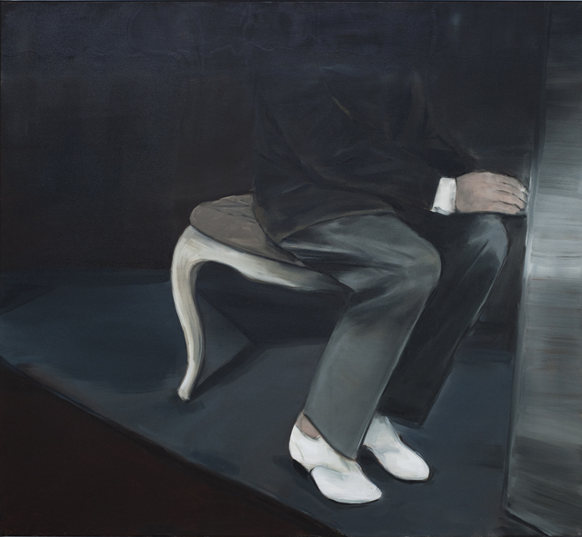 JELENA TELECKI  Rejection  2012 oil on canvas 112 × 122 cm