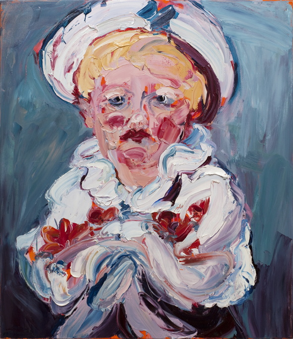 CRAIG WADDELL  Little Boy Blue (after Fragonard)  2012 oil on linen 150 × 130 cm