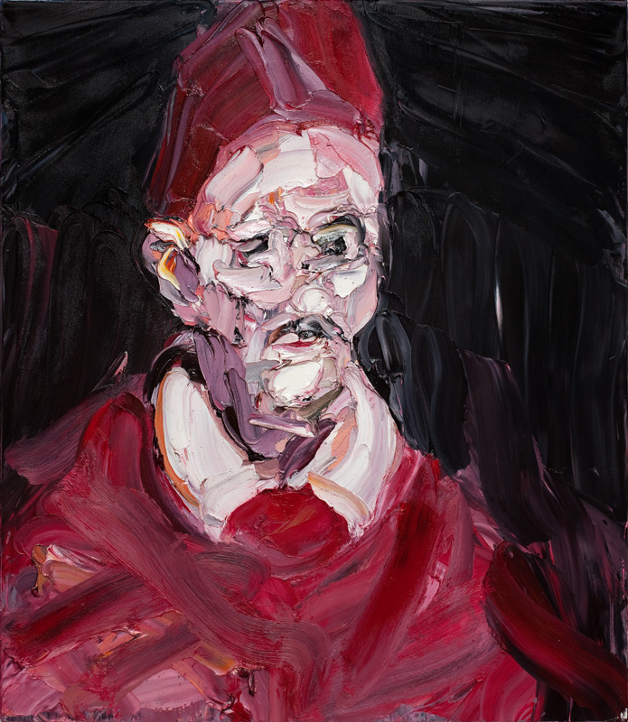 CRAIG WADDELL  Progression – Study (after Velázquez)  2012 oil on linen 60 ×50 cm