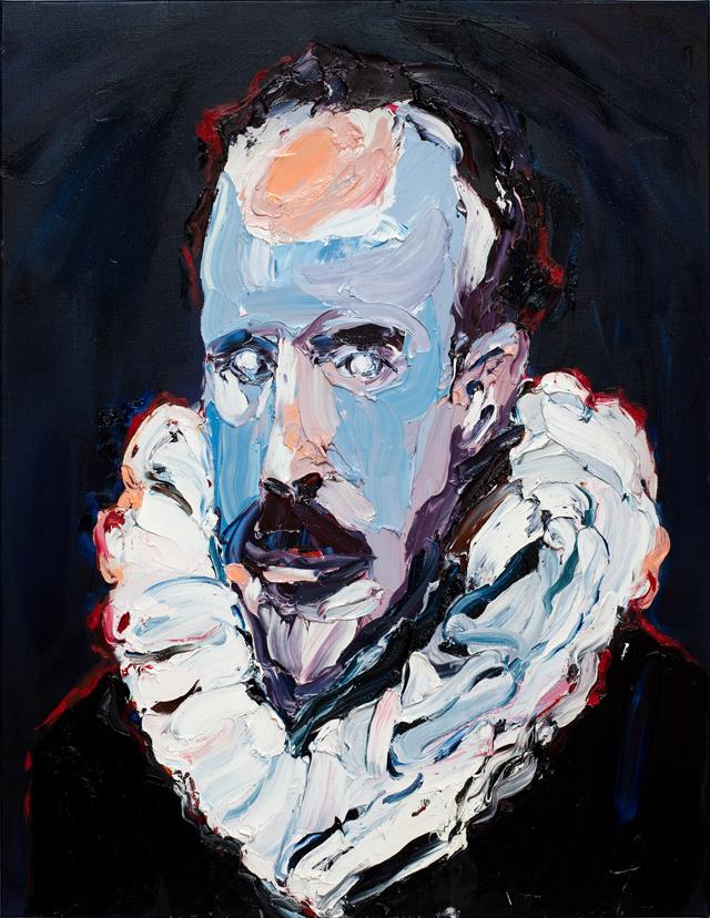 CRAIG WADDELL  Velvet Dreams (after Velázquez)  2012 oil on linen 152 ×118 cm