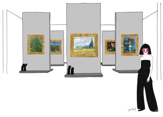 NGV Vincent Van Gogh Exhibition