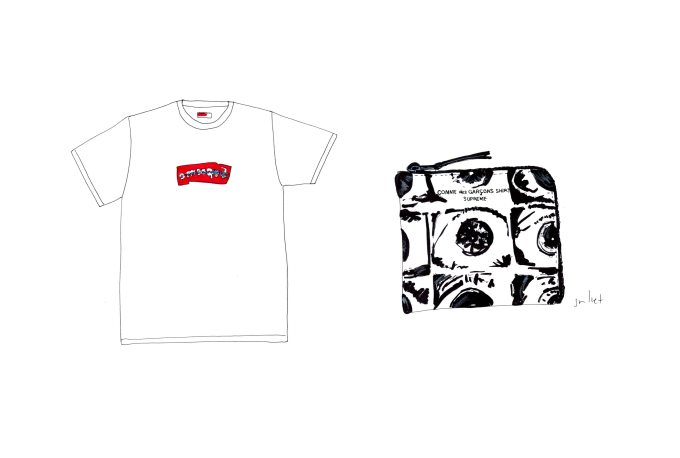 Supreme Comme Des Garcons The Juliet Report And