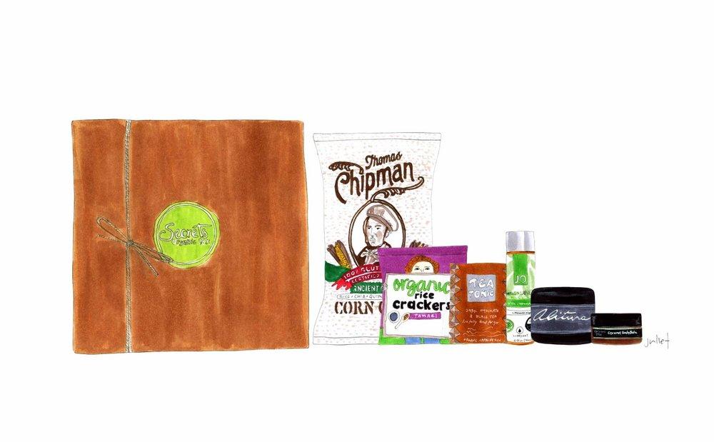 secret organic box