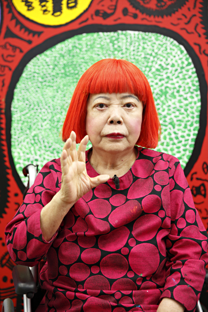 Yayoi Kusama. Copyright of Yayoi Kusama and Courtesy of Ota Fine Arts, Tokyo/ Singapore.